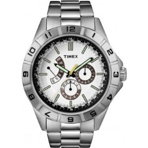 Fossil Watch Sale - TIMEX(タイメックス) T2N518 Retrograde/レトログラード メンズ腕時計ホワイトシルバー | 最新の時間センター