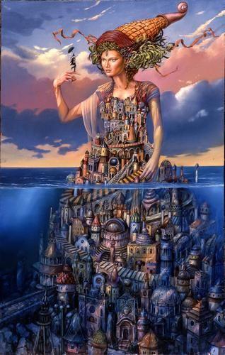 Crazy Love by Tomek Sętowski #art #polishart #setowski #Magicrealism