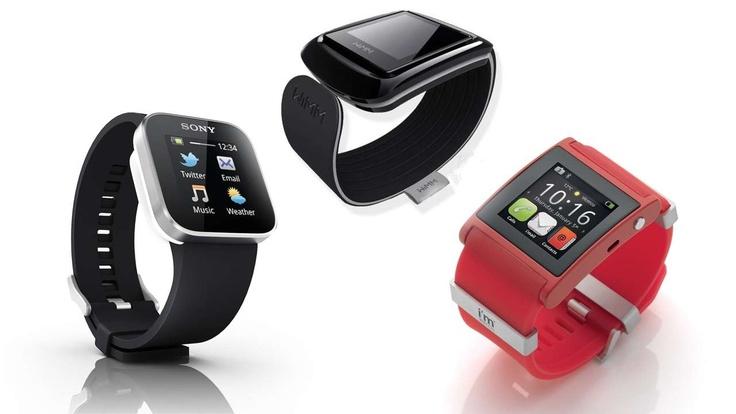 Interesantes diseños de lo ultimo en celulares reloj.
