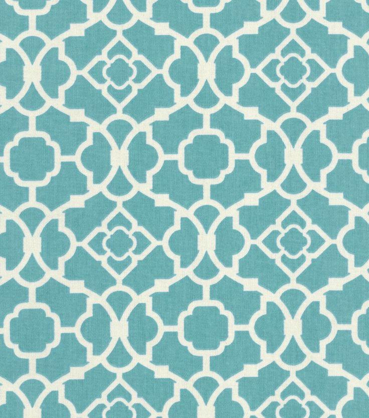 Waverly Home Decor Print Fabric Lovely Lattice Aquawaverly Home Decor Print Fabric Lovely Lattice Aqua