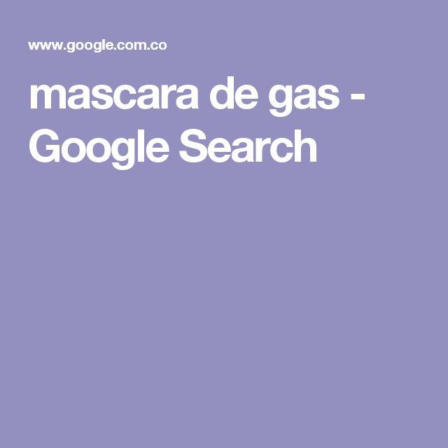 mascara  de gas - Google Search