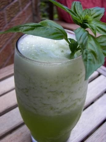 Lime Basil Ade Recipe - Food.com | Basil, This Summer and Limes