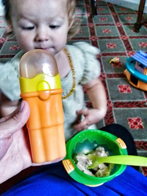 An Opera Singer in the Kitchen: NÛBY Feeding: Travel Fork & Spoon Set {Review}
