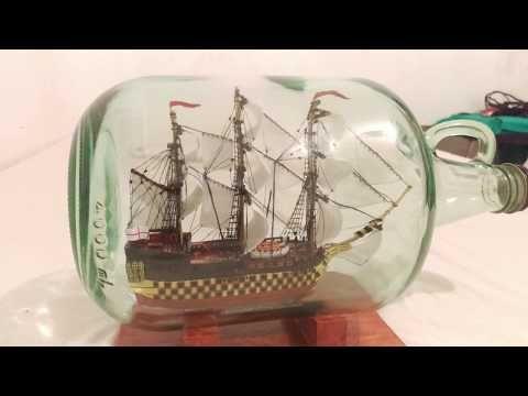 BARCO EN BOTELLA l HMS VICTORY - YouTube