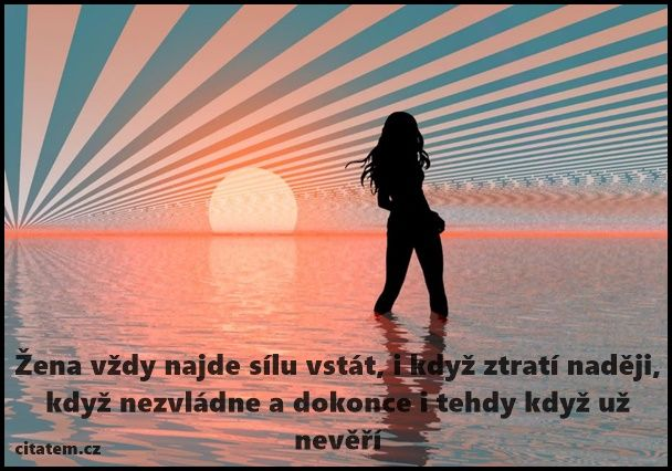 Žena vždy