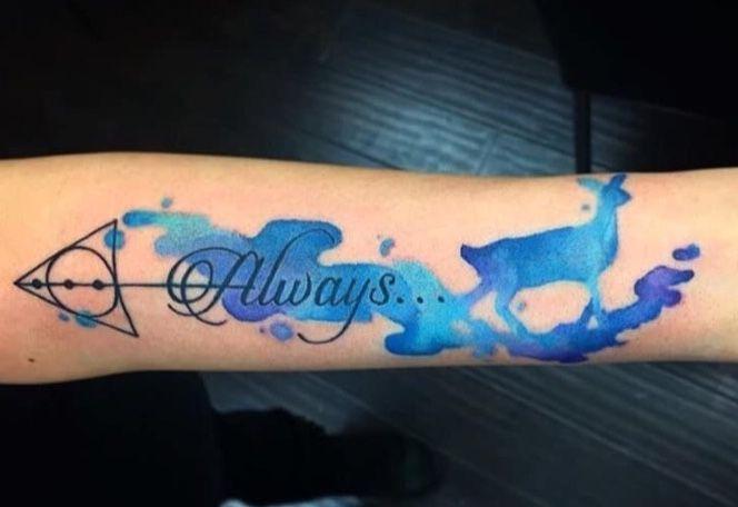 Harry Potter Always Arm Tattoo Always Harry Potter Tattoo Harry Potter Tattoos Always Tattoo