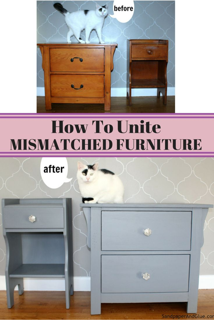 mismatched furniture paint furniture furniture makeover chalky paint