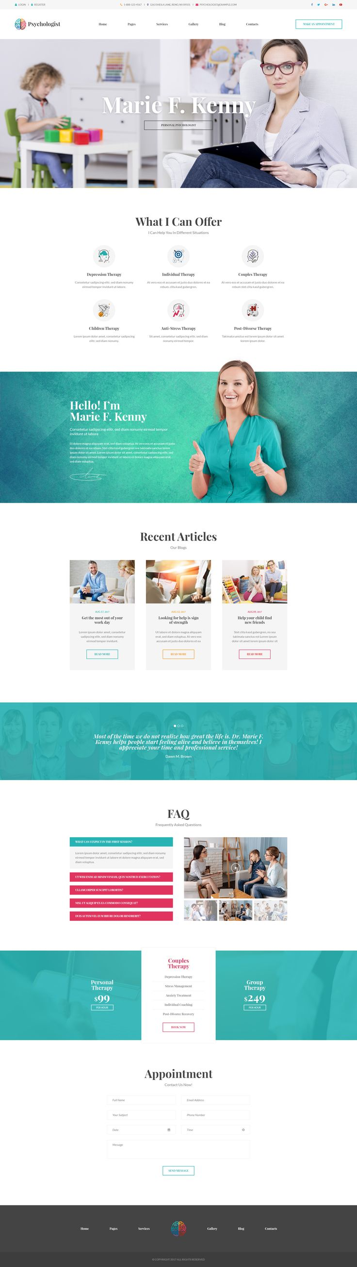 14 best Therapist and Counselor Websites images on Pinterest ...