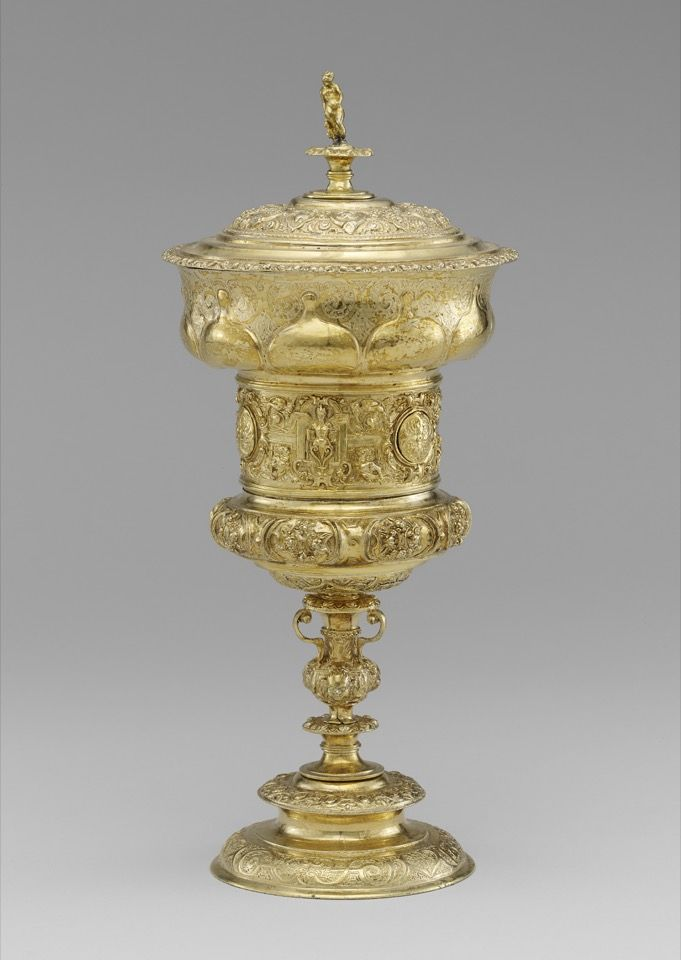 'Tucher Family Cup,' made of silver-gilt by Christoph Lindenberger, Nuremberg circa 1568.