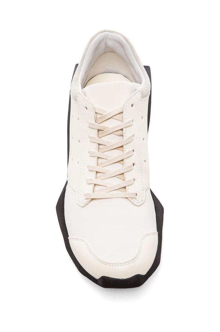 adidas by Rick Owens Tech Runner in White \u0026 Black