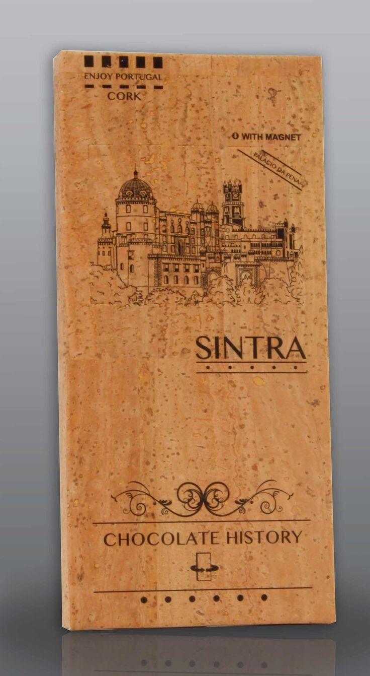 Sintra | Palácio da Pena | Chocolate Negro 48% Cacau 125 g