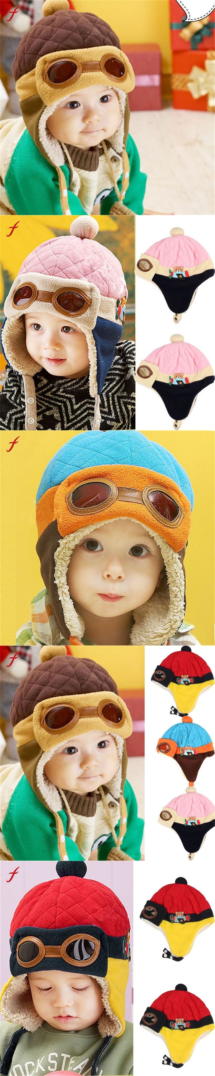 Bonnet Baby Winter Hats Child Hat Plus Velvet Baby Hat Autumn And Winter Thermal Protector Ear Cap Anne