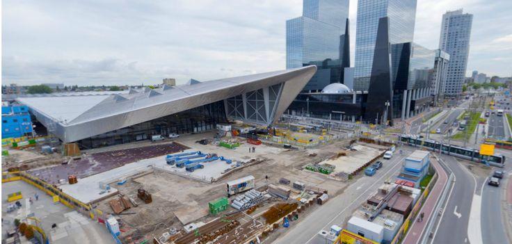 Building Rotterdam Centraal Station