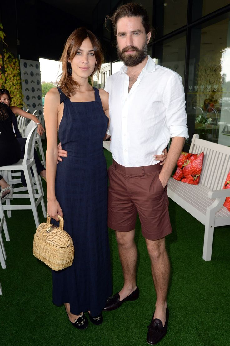 Alexa Chung and Jack Guinness.