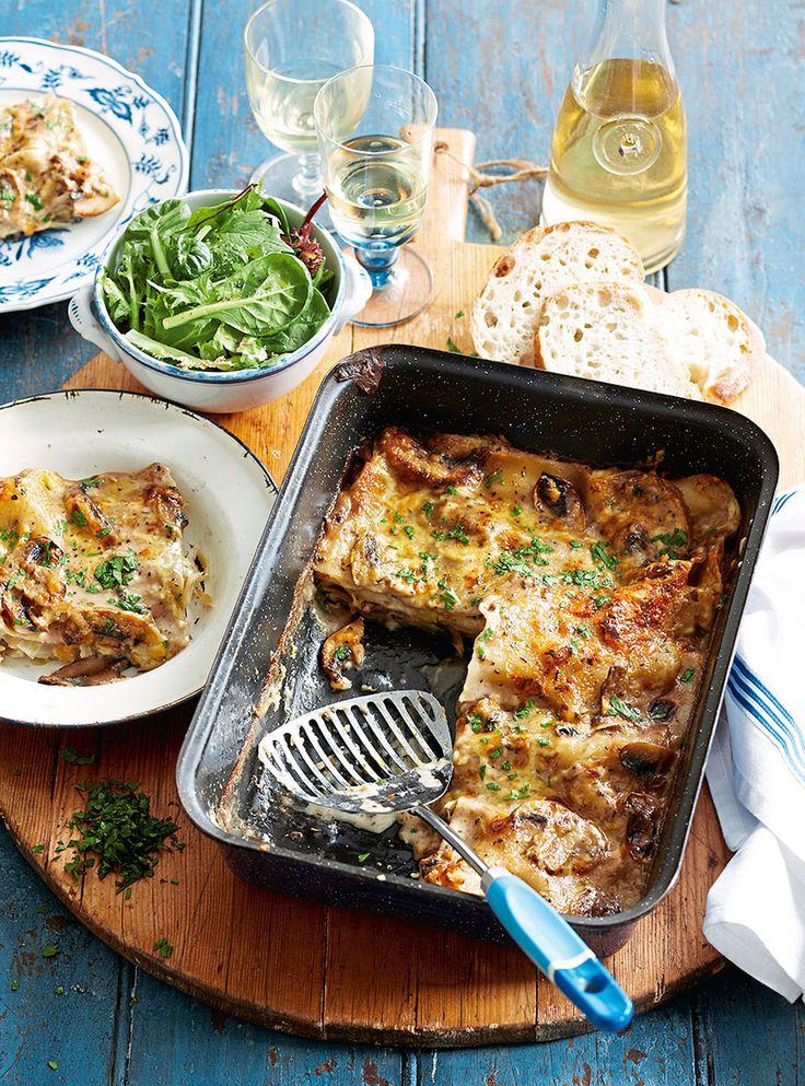 Recette de cuisine : lasagnes d'automne