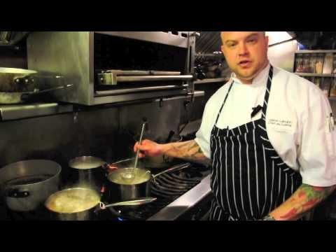 Executive Chef Jason Labahn shows us how to  make the perfect stock from scratch.