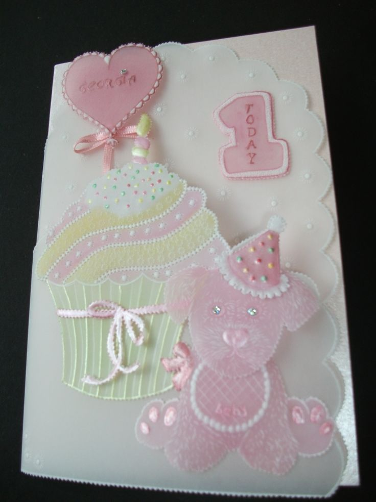 Birthday card from Linda Williams Baby Book