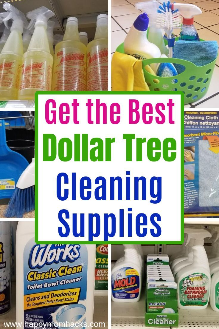 45 Best Cleaning Supplies At Dollar Tree You Need Best Cleaning
