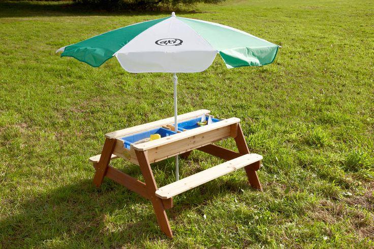 Table de jeu sable et eau en Cèdre 90x80x56cm 109 €