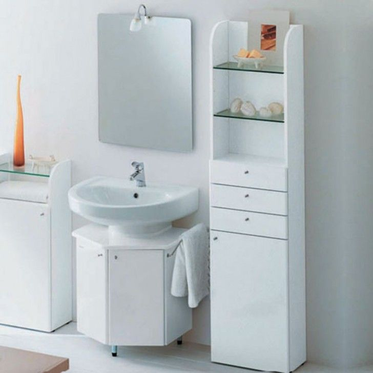 Use Small Bathroom Corner Sinks To Save Space: Gorgeous Small Bathroom  Vanity Sinks White Background Part 61