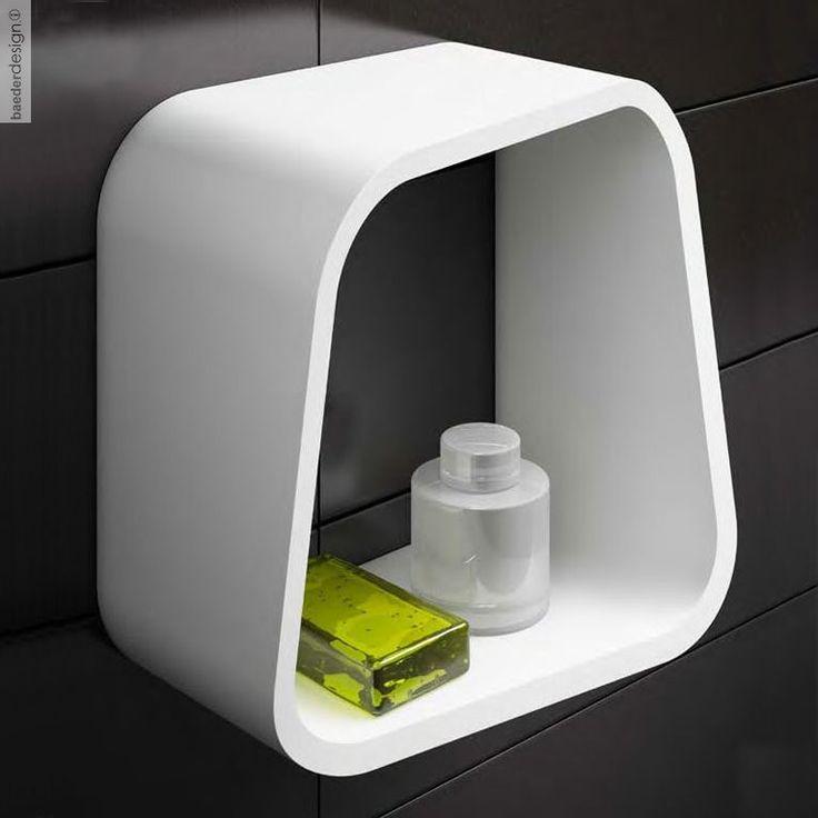 Die besten 25+ Wandregal quadratisch weiß Ideen auf Pinterest - moderne badezimmer ideen regia