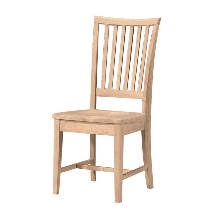 International Concepts Branford Mission Side Chair - 2 Chairs $249.99 (Hayneedle.com)