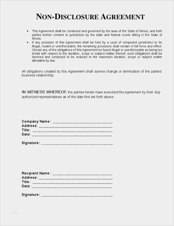 Geheimhaltungsvereinbarung Englisch Muster Zum Download