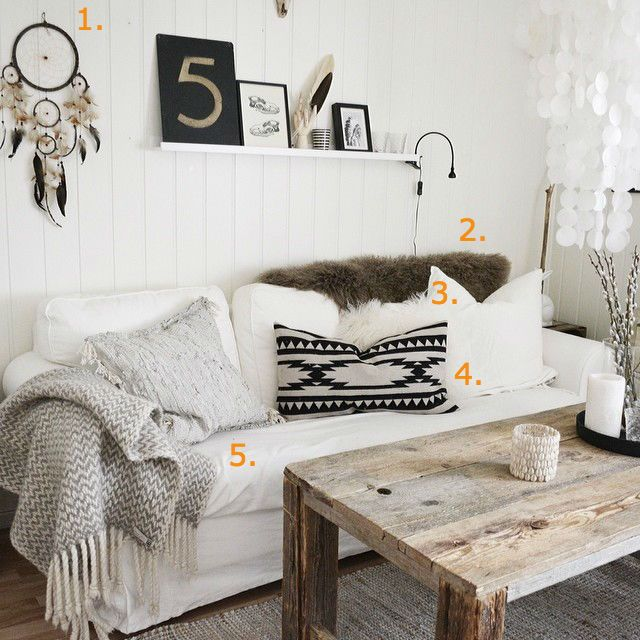 Shop the look: bohemian woonkamer - Roomed | roomed.nl