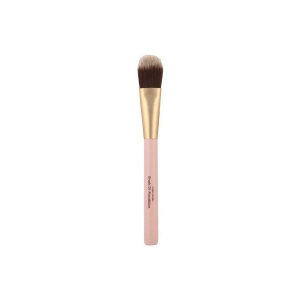 Etude House My Beauty Tool Brush 120 Foundation ($100) ❤ liked on Polyvore featuring beauty products, makeup, makeup tools, makeup brushes and etude house