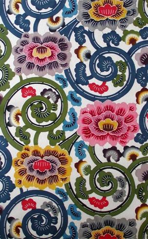 Bingata Arabesque pattern