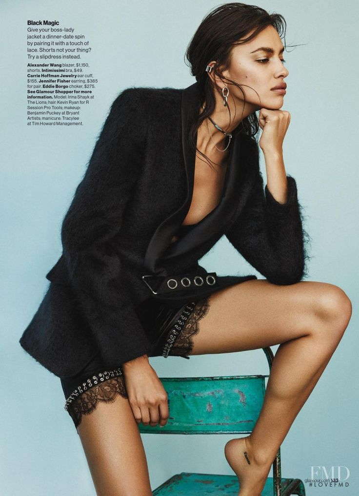 She Wears The Pants in Glamour USA with Irina Shayk - (ID:34156) - Fashion Editorial | Magazines | The FMD #lovefmd