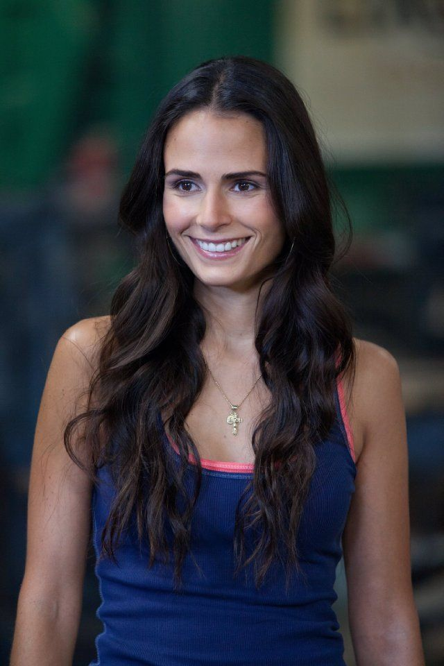 Mia! Well sorta. Jordana Brewster as Mia Toretto