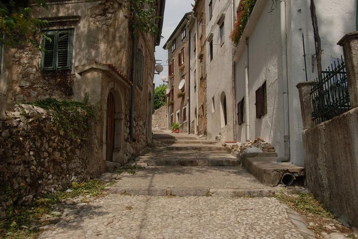 Croatia. Small town Bakar near Rijeka.