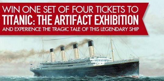 Do you want to experience the touching and tragic tale of the world's most famous ship? You could win tickets to the Titanic Expo - South Africa!  Enter our competition: https://apps.agorapulse.com/app/go/56377/63463  Subscribe to our free newsletter www.capetownmagazine.com