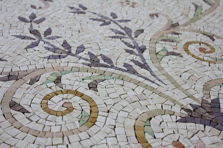 Декор: мозаика«Белый ковер». Abitant Москва