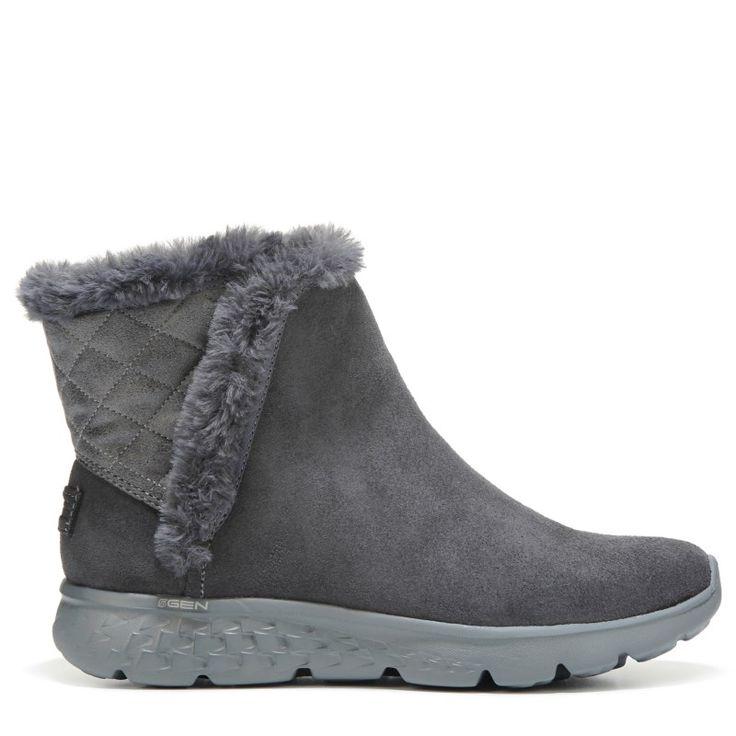 Skechers Women's On The Go Cozies Winter Boots (Charcoal)