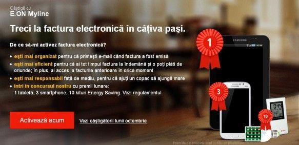 E.ON Myline – Treci la factura electronica in cativa pasi! on http://www.fashionlife.ro