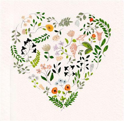A fine art print entitled Spring Love by Cristina Barsony!