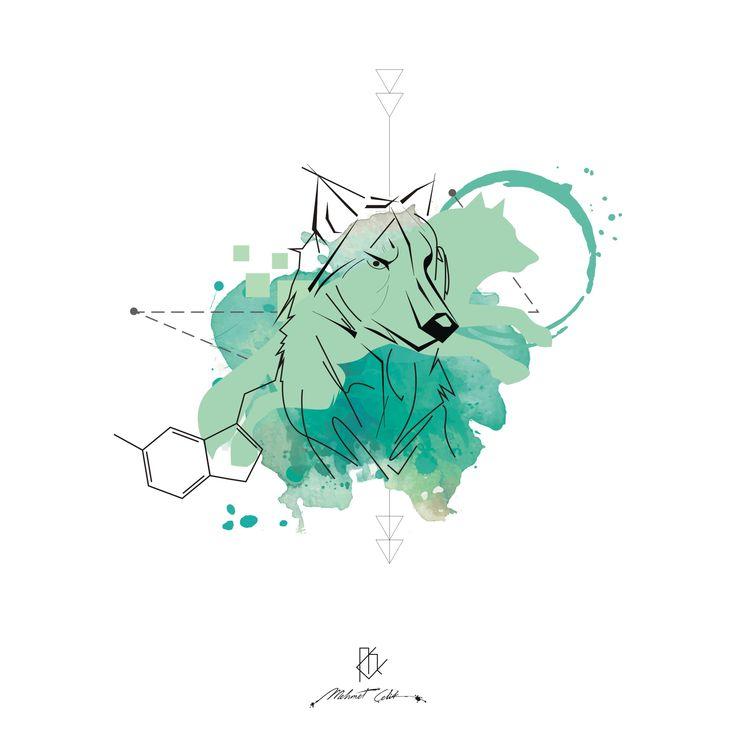 wolf digital art