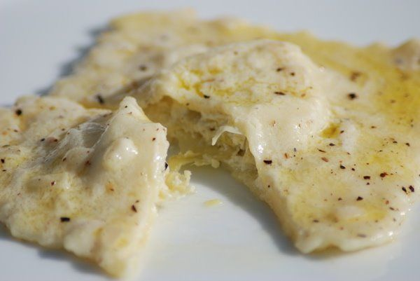 A ravioli primer: Artichoke Ravioli in a Lemon-Cream Sauce