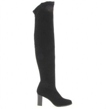 Nieuw NR   Rapisardi 2383 Laarzen overknee Zwart Stretch stof online kopen bij Boots Shoes