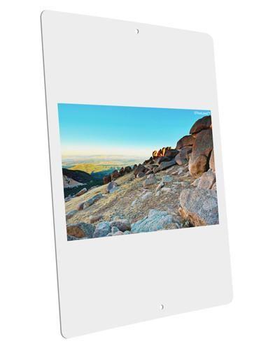 """CO Rockies View Large Aluminum Sign 12 x 18"""" - Portrait"""
