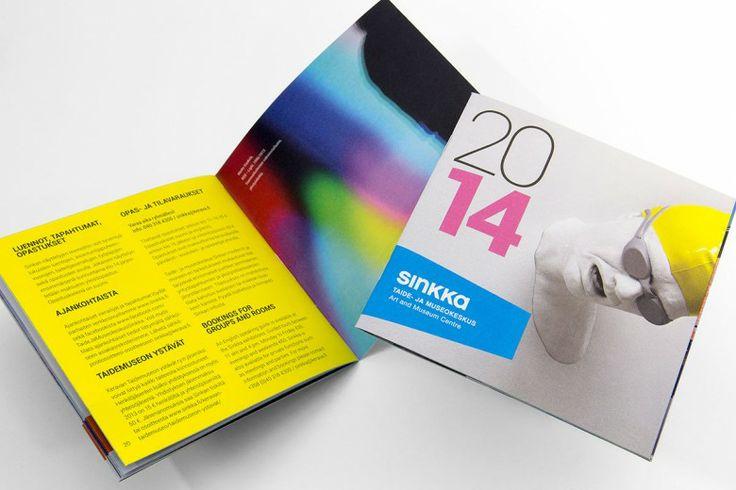 Sinkka 2014 – exhibition calendar.  Intro Design.