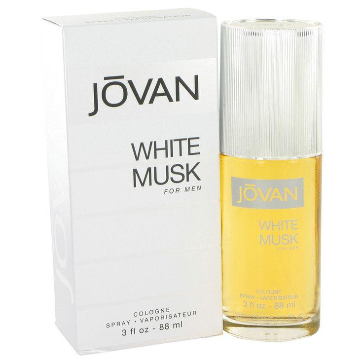 Jovan White Musk by Jovan Eau De Cologne 3 oz
