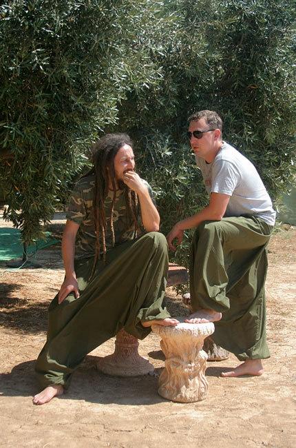 Men's Harem pants.
