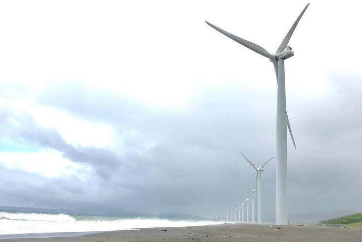 Bangui Wind Farm located along a 9-km stretch of shoreline off Bangui Bay facing the West Philippine Sea is first of its kind in Southeast Asia. Each of the 20 turbines is capable of generating up to 1.65MW of electricity. . . . . . . . #banguiwindmills #ilocos #travelandleisureclub #northluzontour #travel #travelphotography #iphonephoto #iphonephotography #wanderlust #wonderlust #wonderer #travellushes #philippines #renewableenergy #cleanenergy