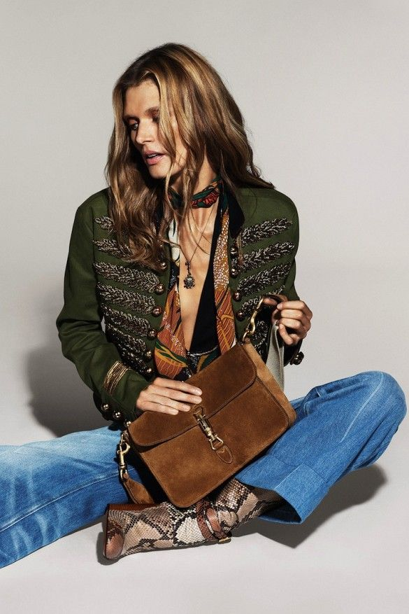 Gucci's Hippie-Chic S/S 2015 Campaign via @WhoWhatWear