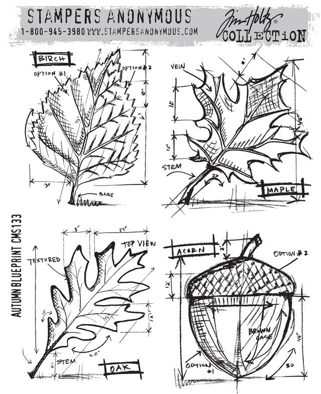 89 best stamps images on pinterest stamping stamps and handmade cards stampers anonymous tim holtz autumn blueprint normally im not really malvernweather Choice Image
