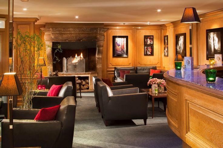 ❦ Terass Hotel - Paris, France. Cosy Bar