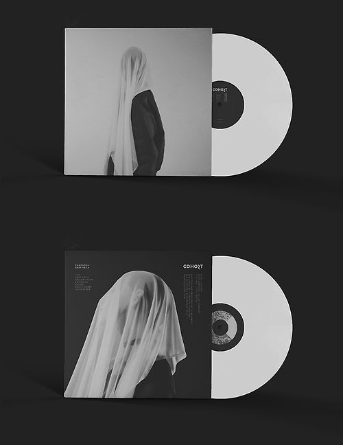 "designersof:  Vinyl packaging for ""Chainless - Grey..."